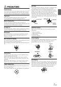 Mobile Media Station IVE-W530BT - Alpine Europe - Page 7