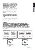 VZ402E VX402E - Alarm Service - Page 5