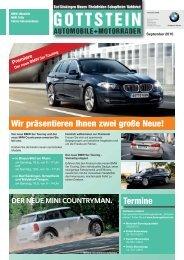 Wir Präsentieren Ihnen Zwei Große Neue! - BMW Gottstein