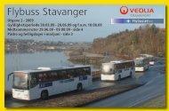 Flybuss Stavanger - Boreal