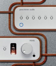 nova - Test bei Image HiFi 05/2009 - peachtree audio