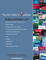 Publications list