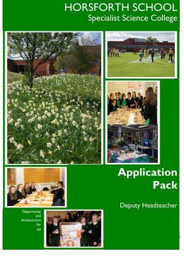08 Deputy Headteacher application pack.pdf - Drighlington Primary ...