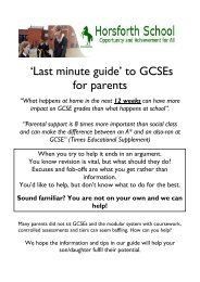 'Last minute guide' to GCSEs for parents