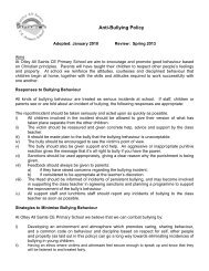 Anti-Bullying Policy - Drighlington Primary School