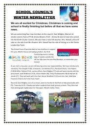 SC Newsletter - Drighlington Primary School
