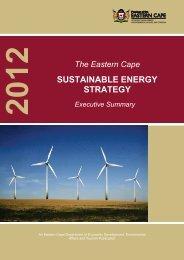 EC Sustainable energy strategy-executive summary - Dedea
