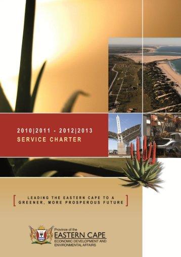 Service Charter Booklet - Dedea