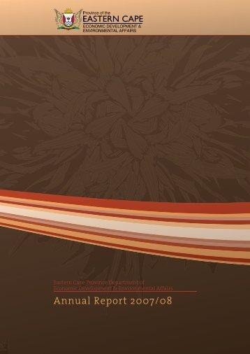 Annual Report 2007/08 - Dedea