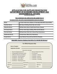 DEDEA Supplier Registration Form