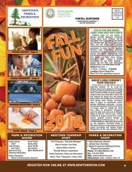 Youth Special Interest - REVISED - Newtown Township Parks and ...