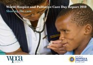 World Day Report - Palliative Care Australia