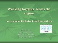 Dr Odette Spruyt - Palliative Care Australia