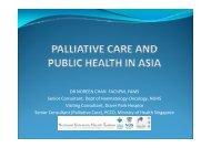 Dr Noreen Chan - Palliative Care Australia