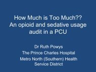 How Much is Too Much?? - Palliative Care Australia