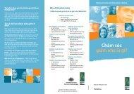 Chăm sóc giảm nhẹ là gì? - Palliative Care Australia