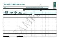 MEDICINES RECORDING CHART - Palliative Care Australia