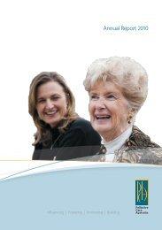 Annual Report 2010 - Palliative Care Australia