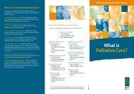 What is Palliative Care? - Palliative Care Australia