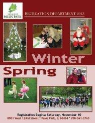 YOUTH ATHLETICS - Village of Palos Park, Illinois