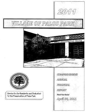 2w. . - Village of Palos Park, Illinois