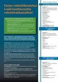 Fanuc-robottikoulutus Lisää tuottavuutta robottiratkaisuihin! - Fastems - Page 2