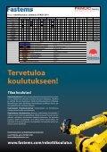Fanuc-robottikoulutus Lisää tuottavuutta robottiratkaisuihin! - Fastems - Page 4