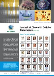 The Molecular Biology/Immunology - Department of Biological Science