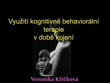 Využití kognitivně behaviorální terapie v době kojení