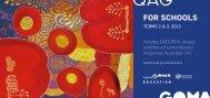 FOR SCHOOLS - Queensland Art Gallery