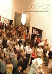 QUEENSLAND ART GALLERY ANNUAL REPORT