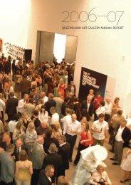 QUEENSLAND ART GALLERY ANNUAL REPORT