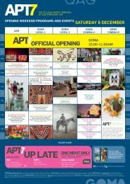 APT7 - Queensland Art Gallery