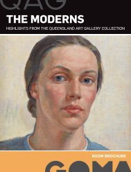 THE MODERNS - Queensland Art Gallery