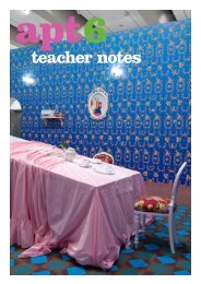 APT6 teacher notes - Queensland Art Gallery