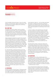 teacher notes - Queensland Art Gallery - Queensland Government
