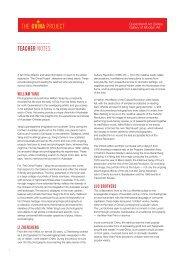 teacher notes - Queensland Art Gallery - Queensland Government