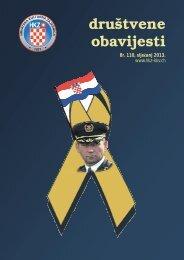 Društvene obavijesti broj 110, siječanj 2013. - Hrvatska Kulturna ...