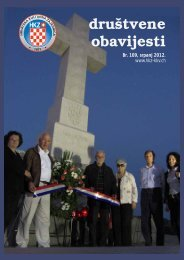 Društvene obavijesti broj 109, srpanj 2012. - Hrvatska Kulturna ...