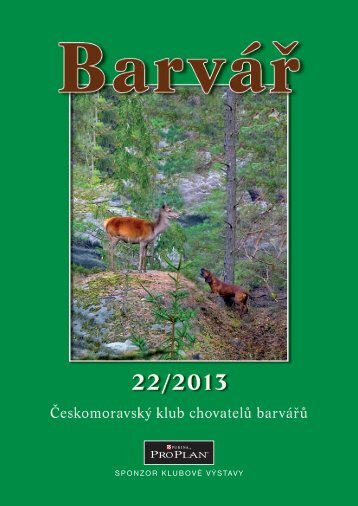 Zpravodaj 2013 - Klub chovatelov farbiarov