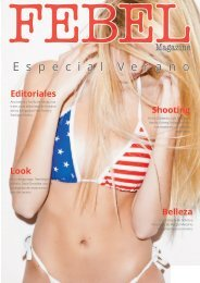 FEBEL Magazine Especial Verano
