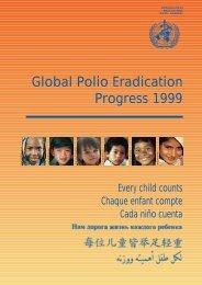 Global Polio Eradication Progress 1999 - libdoc.who.int - World ...