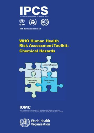WHO Human Health Risk Assessment Toolkit - libdoc.who.int ...