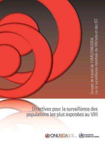 Directives pour la surveillance des populations les ... - libdoc.who.int