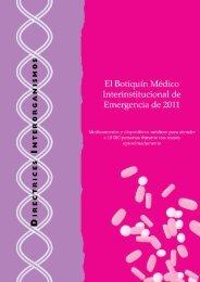 El botiquín médico interinstitucional de emergencia ... - libdoc.who.int