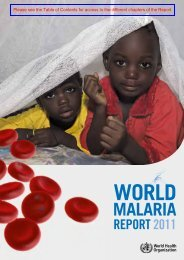 Financing malaria control - libdoc.who.int - World Health Organization