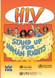 HIV/AIDS - stand up for human rights - Office of the High ...