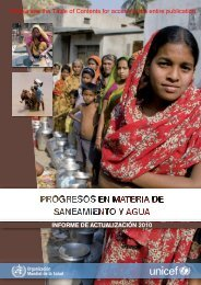 INFORME DE ACTUALIZACIÓN 2010 Please see ... - libdoc.who.int