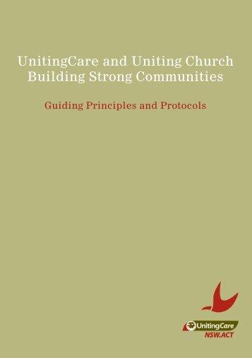 Principles and Protocols - UnitingCare NSW.ACT
