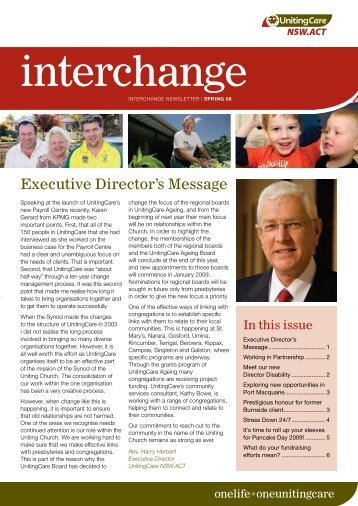 interchange - UnitingCare NSW.ACT